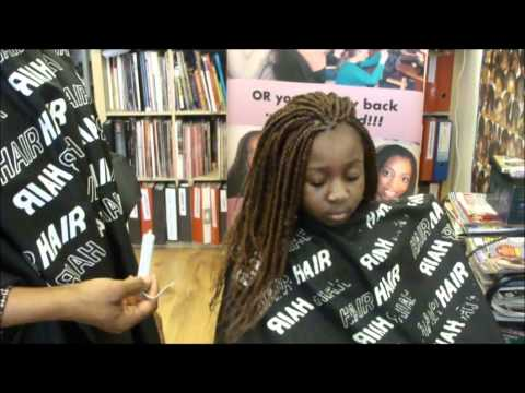 LEARN AFRO KINKY TWIST WITH CURLING ROD FINISH