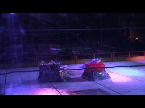 Robot Wars Portsmouth 2014 – Ripper vs Behemoth vs Terminal Ferocity vs Rattler