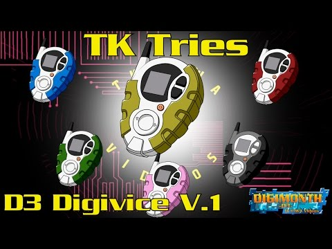 TK Reviews The D3 Digivice