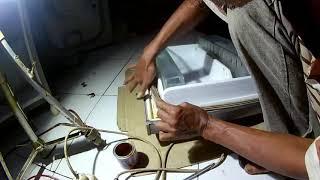 Cara memperbaiki karet pintu kulkas yang keras modal Rp 2500 rupiah