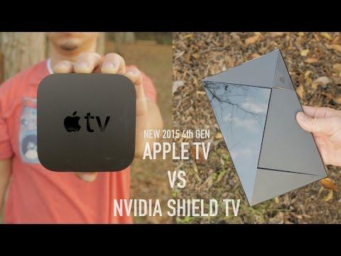 New Apple TV (4th Gen) vs NVIDIA Shield TV Ultimate Comparison!