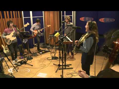 "Ra Ra Riot performing ""Beta Love"" Live on KCRW"