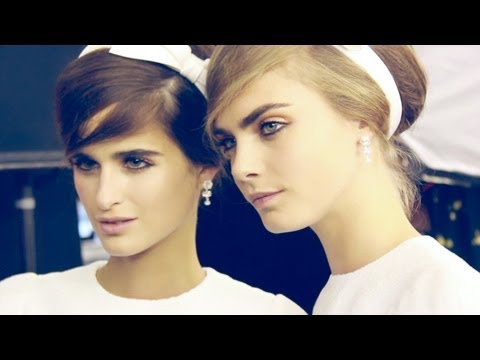 Backstage at Louis Vuitton Spring Summer 2013 | Stylerumor.com