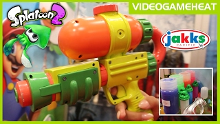 splatoon blasters with real life ink revealed splattershot quick shot at toy fair ny 2017