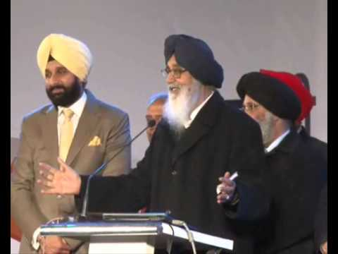 Full Video: Badal Teases Bikram Majithia and other Young Leaders