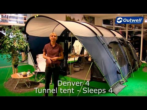 Outwell Denver 4 Tent | Innovative Family Camping