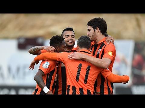 Aalborg 0-3 Shakhtar. Highlights (3/02/2017)
