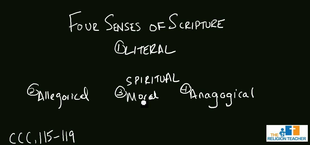 the four senses of scripture