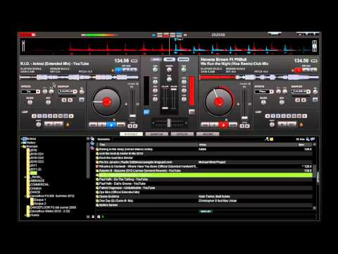 Mix 2012 sur Virtual DJ (N15)  - DanceFloor, Electro, House -  [HD] by DjAurlien80 Music Videos