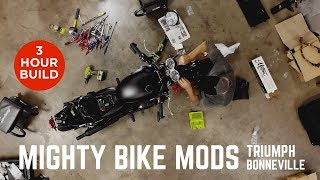Mighty Bike Mods - Triumph Bonneville