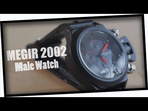 MEGIR 2002 Silicone Band Wristwatch from GearBest.com