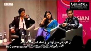 SRK,Kajol and Karan at BBC with arabic subtitle Part 7.rv