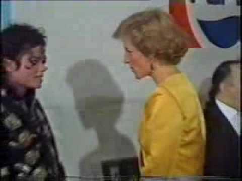 michael jackson meets princess diana