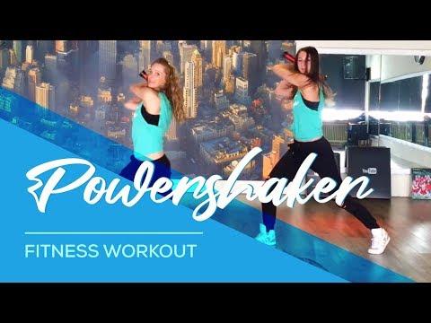 Powershaker - Fitness  Workout - Woerden en Harmelen. Muscles,  Arms Back Abdomen Legs Booty