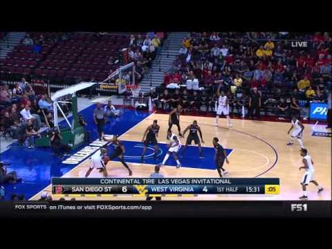 NCAAB 11 27 2015 San Diego State vs West,Virginia 720p60