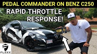 FASTER THROTTLE PEDAL COMMANDER INSTALLED ON ANY MERCEDES