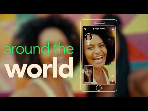 HOLLA: random video chat APK Cover