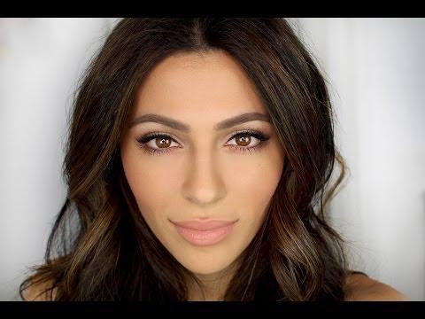 Date Night Makeup Tutorial + Hair   Natural Makeup Tutorial   Teni Panosian