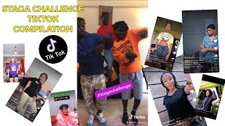 STAGA BY ETHIC  |Tiktok challenge compilation (Staga Niki Medi | Staga Dance