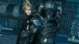 Final Fantasy VII Cloud & Final Fantasy XII Judge Master Outfit Cutscenes