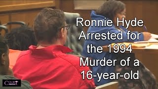 Ronnie Hyde First Appearance 03/08/17