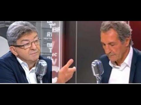 Mélenchon chez Bourdin : c'est pas l'invité qui est piégé, c'est le piégeur ! streaming vf