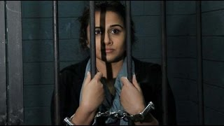 Vidya Balan Goes Behind the Bars for Promotional Interview of Film Kahaani 2 | Vidya Balan Interview