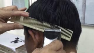 Hướng dẫn cắt kiểu tóc ớt Lài cơ bản