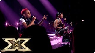 Acacia & Aaliyah Sing All My Life/Shutdown | Live Shows Week 2 | The X Factor UK 2018