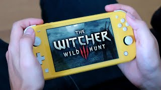 juego a The WITCHER 3 en una Nintendo SWITCH Lite 😐 ¿se ve bien? Gameplay español