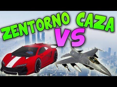 Zentorno VS Caza - Test de Velocidad - El Mejor Coche de GTA 5 Online - DLC HIGH LIFE 1.13