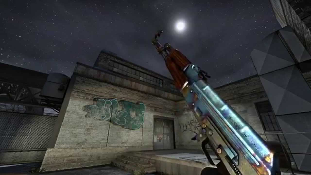 Case Hardened Blue Top Ak-47 | Case Hardened Blue