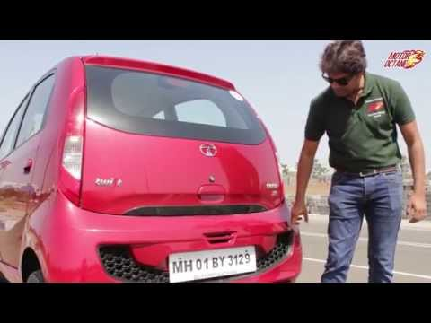 Tata Nano Gen X Automatic (AMT) Review - Hindi   MotorOctane