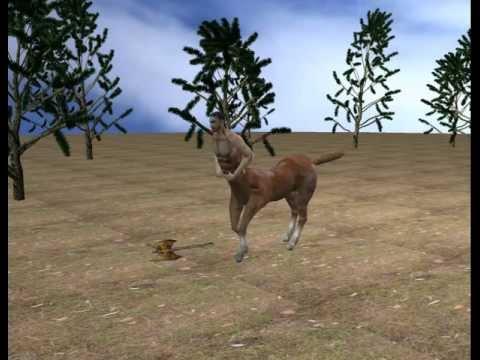 3D Centaur - Half Man Half Horse - YouTube