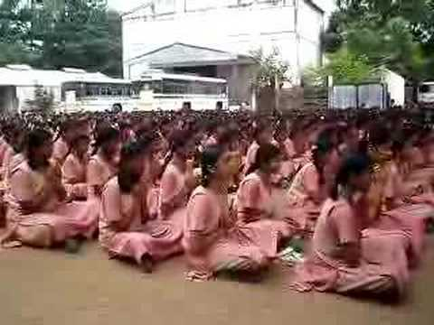 Morning Prayer At A School In India video