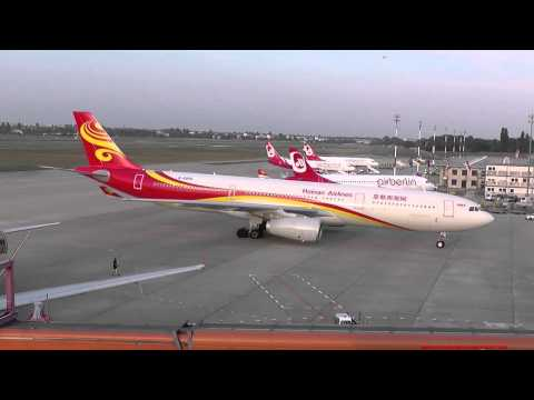 NEW LIVERY Hainan Airlines Airbus A330-343 B-5950 HU489 CHH 489 Airport Tegel 05.09.2014