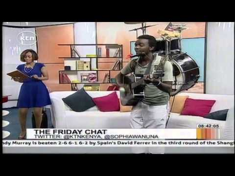 One Man Band Perform In Morning Express
