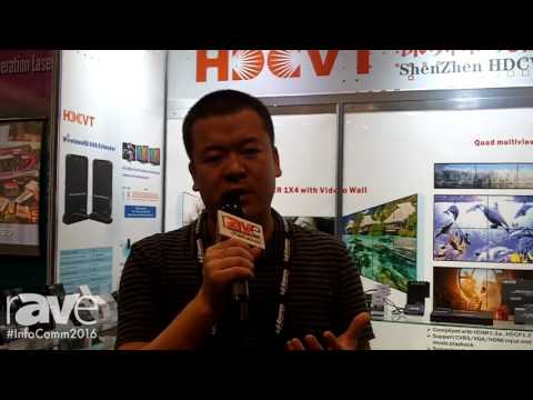 InfoComm 2016: HDCVT Introduces Company and Details Product Line