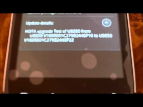 Huawei Vision U8850 UnBox and Update