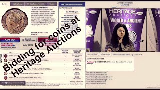 Bidding for rare coins at Heritage Auctions | Heritage Live