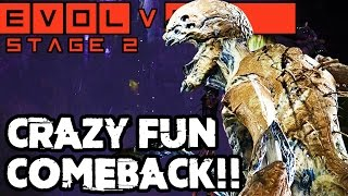 THE CRAZY COMEBACK!! EPIC STAGE TWO GORGON MATCH!! Evolve Gameplay Walkthrough (PC 1080p 60fps)