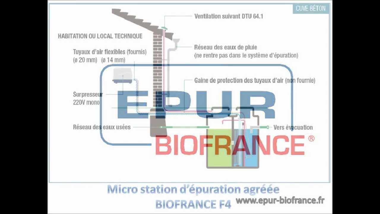 epur biofrance fonctionnement micro station d 39 puration agr youtube. Black Bedroom Furniture Sets. Home Design Ideas
