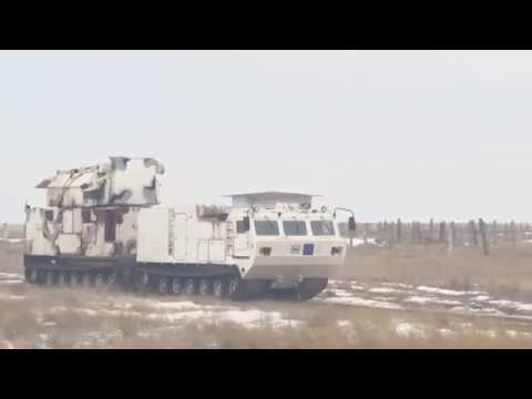 RAW: Russia tests new Arctic air-defense system  Tor-M2DT