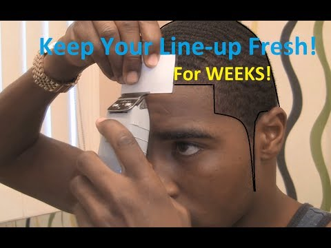 How to Keep Your Line-up Fresh after a Hair Cut!