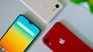 OnePlus 6T vs Pixel 3 vs iPhone XR   Blind Camera Test!