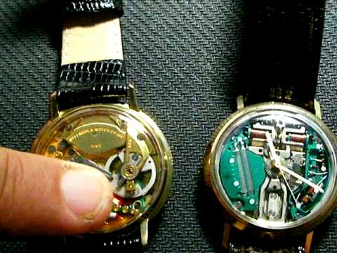 Accutron 214 wrist watch & Wittnauer Electronic / Dynotron