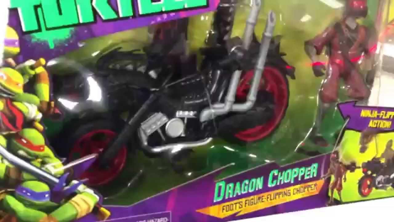 Tmnt Quot Dragon Chopper Quot Ninja Turtles Flipping Motorcycle