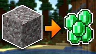 Unlimited Emeralds In Minecraft Survival (#11)