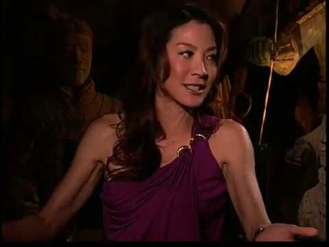 Michelle Yeoh Jet Li interview The Mummy Tomb Dragon Emperor Video