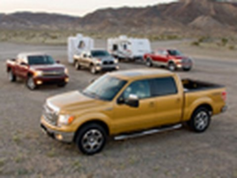 Big Trucks Duke it Out: Full Size Pickup Comparison Video